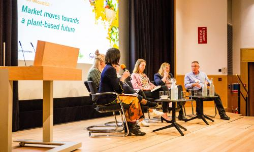 Panel discusses the future of growth in demand for plant-based